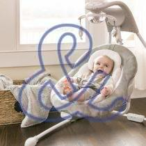 Ingenuity DreamComfort InLighten Cradling Swing – Braden