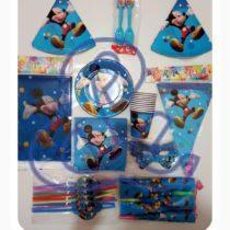 Pack Anniversaire MICKEY MOUSE pour 10 personnes