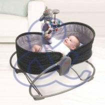 Transat Rocker-Napper 3 en 1 Gris/Noir – TINY LOVE